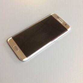 Samsung Galaxy S7 Edge - 32GB - Unlocked - 4G - Gold - Good Condition - Receipt & Warranty
