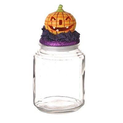 Purple Pumpkin (Grasslands Road Halloween - Pumpkin Glass Jar -)