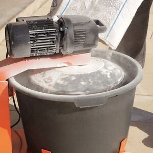 Portable RUBI Mortar Mixer with extra bucket