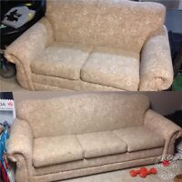 FREE Couch & Loveseat Set GUC