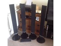 LG surround sound speaker tower system 200watt output