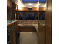 Compass 4 berth fixed bed manouver alarmed 2007