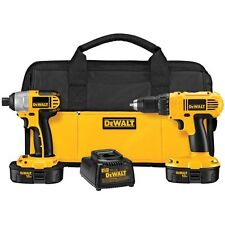 18-Volt NiCad Cordless Drill/Driver and Impact Driver Combo Kit