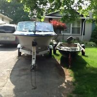 16 FT CUTTER $1000 OBO AND 11 1/2 FT CAR TOPPER $500 OBO
