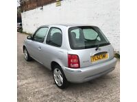 Nissan Micra 1.0 S (silver) 2002