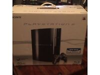 PlayStation 3 80gb for sale with 15 games