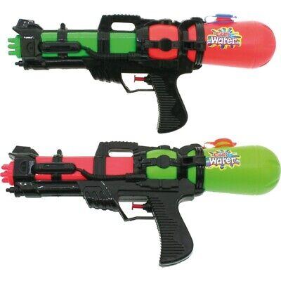 2x XL Wasserpistole Wasser-Pistole Spritzpistole Kanone Water Gun mit Tank 38 cm