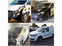 Car & Van Body repairs-Body alignment & jig pull-Smart repair & full respray-Salvage accident repair