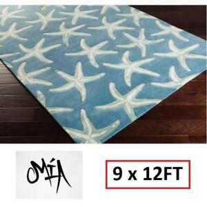 NEW* MIA STARFISH AREA RUG 9x12FT 149590997 RUGS CARPET FLOORING DECOR ACCENTS MATS PADS