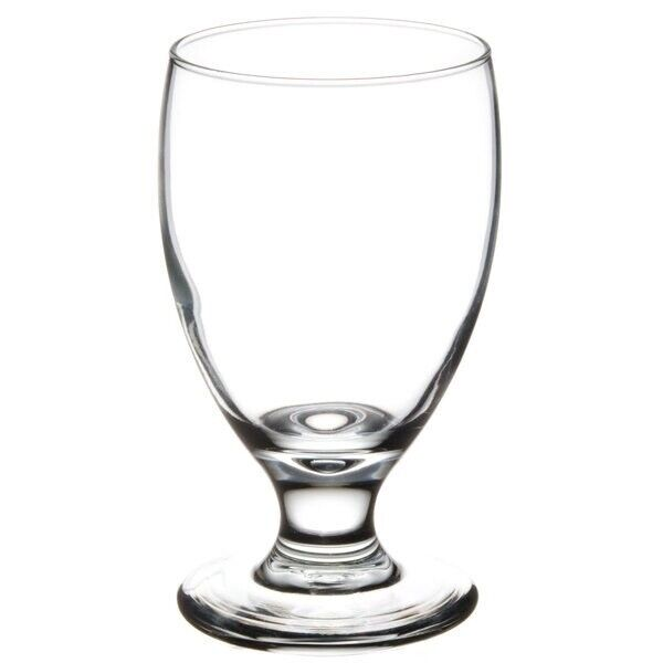 NEW Libbey Rock Sharpe EMBASSY Water Goblet 10.5 oz, PCS-4