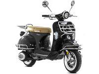 New Lexmoto Milano EFI 125cc (Euro 4) Scooter - 2 Year Parts Warranty - Finance Available