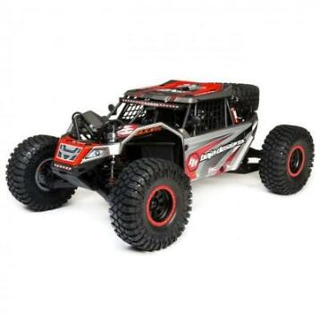 Losi Super Rock Rey 4WD Brushless Rock Racer RTR - Rood