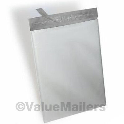 10000 7.5x10.5 White 2.5 Mil Thick Poly Mailers Envelopes Shipping Bags