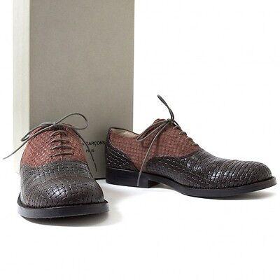 (SALE) COMME des GARCONS HOMME PLUS Leather Shoes Size US 7(K-26189)