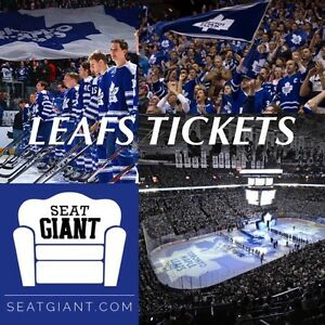 LEAFS PRE-SEASON TICKETS vs BUFFALO IN ST CATHARINES!