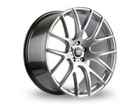 """19"""" Staggered AVA Phoenix on tyres for an E90, E91, E92, E93 BMW 3 Series, Vauxhall Insignia ETC"""