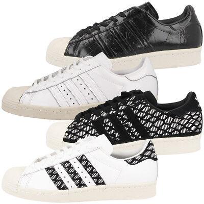 Damen-retro-sneaker (Adidas Superstar 80s Women Schuhe Damen Retro Sneaker Samba Flux Los Angeles)