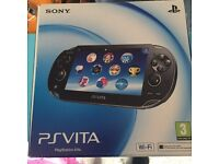 Sony PS Vita boxed with case and 16gb card