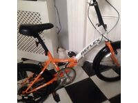 Reflex folding bike