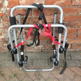 BIKE RACK - FOR USE ON REAR TAILGATE OF 4X4 VEHICLE