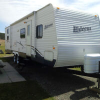 31' Hideout with slide/4 bunks