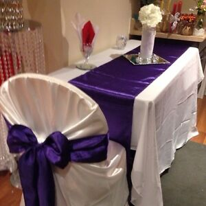 Nice Chair cover-Tablecloth-Backrop &Decor Rental  London Ontario image 2