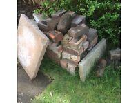 Bricks, blocks and 7 slabs