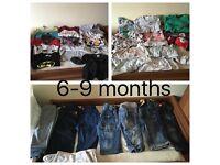 Large boys 6-9month bundle