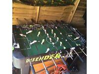 Full size football table