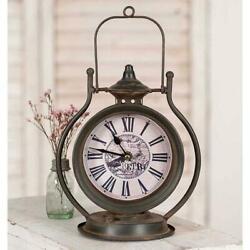 Vintage Style Tabletop Clock