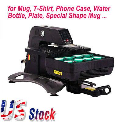 Usa 110v Multifunctional Auto Pneumatic 3d Sublimation Vacuum Heat Press Machine