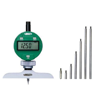 Insize Electronic Digital Depth Gauge 0-120-300mm Resolution .00050.01mm