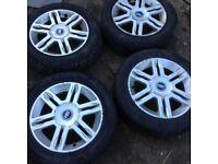 Tyres /Alloys x4 fait panda