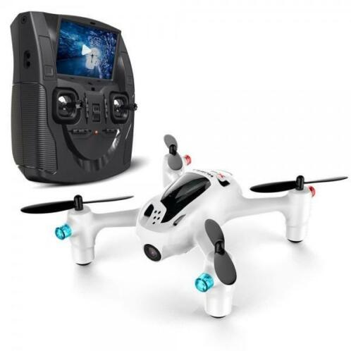 Hubsan X4 H107D+ mini quadcopter met HD camera RTF - FPV