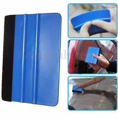 Vinyl Plastic Wrap Applicator Car Squeegee Decal Soft Felt Edge Scraper Tool