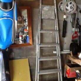 Aluminium high steps