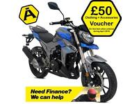 LEXMOTO VIPER 125CC EFI - MOTORCYCLE - MOTORBIKE - NAKED SPORTS BIKE