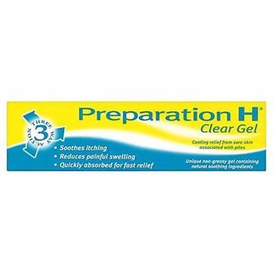 Preparation H 3 Way Action Clear Gel for Sore Skin Soothing Relief Cooling - 50g for sale  Bolton