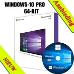 WINDOWS 10 PROFESSIONAL - 64-BIT - DVD | Sticker | 10 PC's |