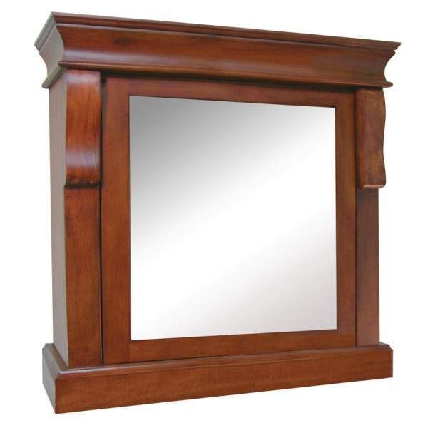With More Details Than Other Models, The Foremost Naples NACC2531 Has A  Simple, But Tasteful Look To It. The Wood Accents On This Medicine Cabinet  Make It A ...
