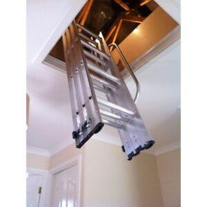 werner abru arrow loft ladder free postage with any storefloor kit