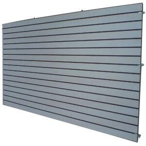 4u0027 x 8u0027 gray color slatwall panels