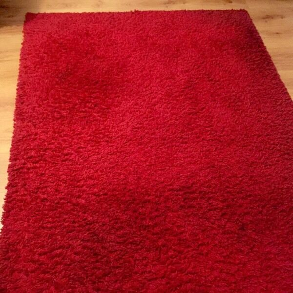 IKEA Red Rug