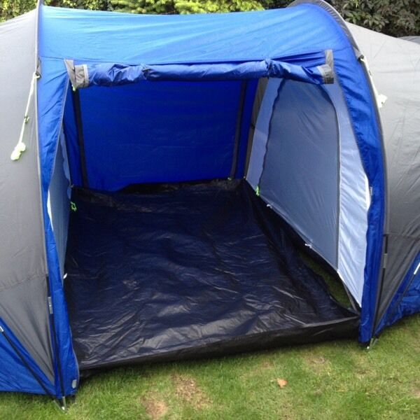 Pro action 6 man 2 room tent blue & Pro action 6 man 2 room tent blue | in Marchwood Hampshire | Gumtree