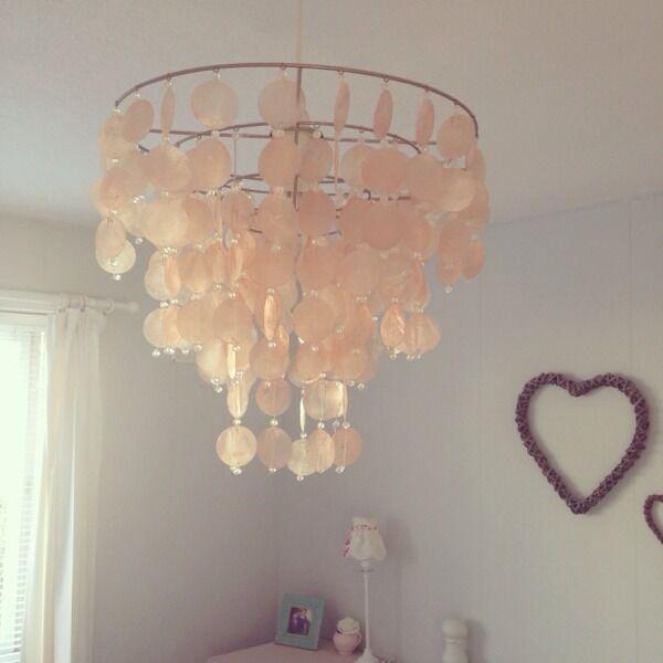 Laura ashley capiz shell chandelier