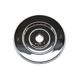 moen style chateau escutcheon in chrome for tub and shower valves
