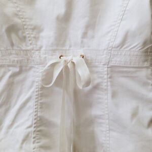Guess White Blazer with lace and ribbon London Ontario image 3