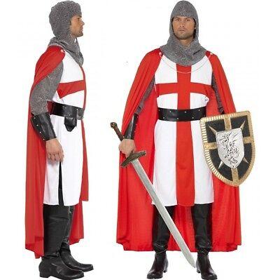 Mittelalterlich Ritter Kostüm st George England M 96.5-102cm von - England Ritter Kostüm