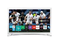 Samsung white 32inch smart TV