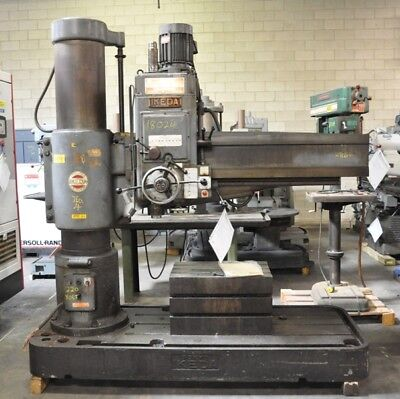 1979 5 Ikeda Rm1575 Radial Arm Drill 220 Volt Coolant Pump